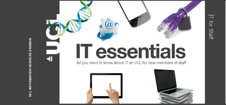 IT essentials for new members of staff