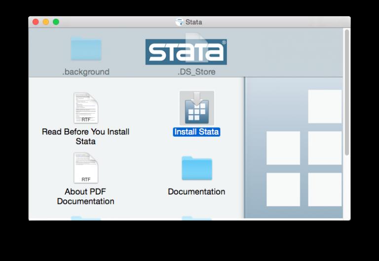 Install Stata mac…
