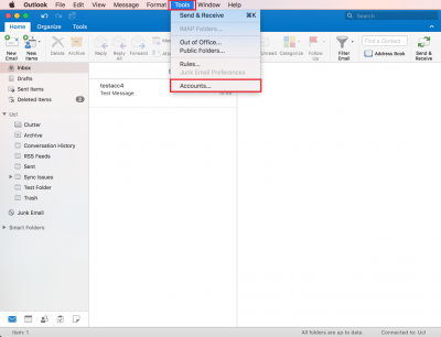 Open a shared mailbox in Outlook 2016 for Mac | Information Services