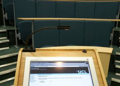 UCL lectern