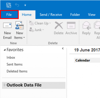 Connect/log in to Outlook 2016 for Windows | Information
