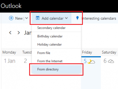 view another person s calendar in outlook web access owa