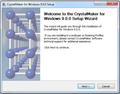 CrystalMaker 3…