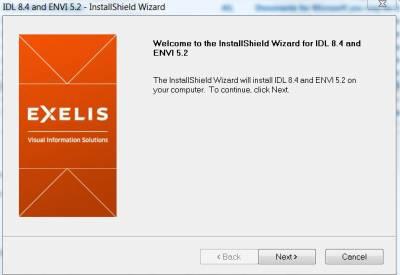 InstallShield Wizard for IDL and Envi…