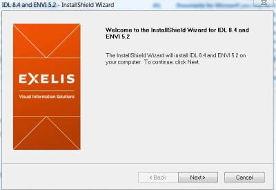 InstallShield Wizard for IDL and Envi…