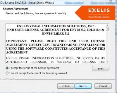 IDL & Envi License Agreement…