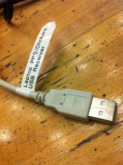 USB receiver cable…