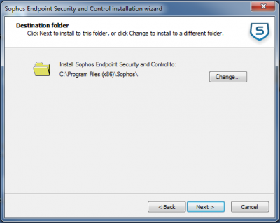 How to install Sophos for Windows   Information Services