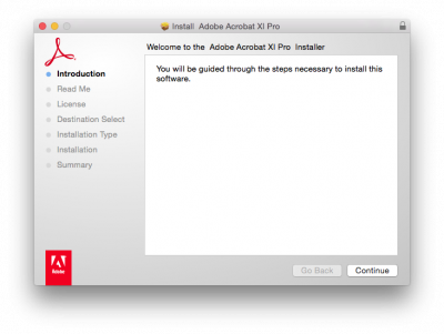 How to install Acrobat macintosh   Information Services