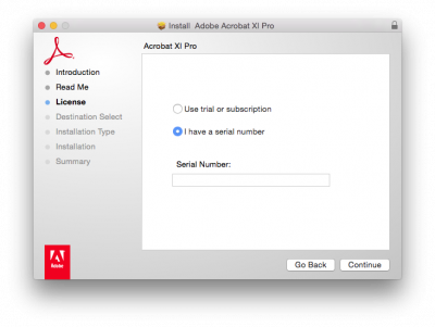 How to install Acrobat macintosh | Information Services Division