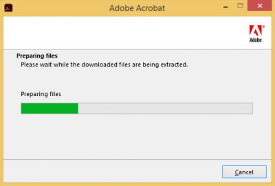 Extracting files…