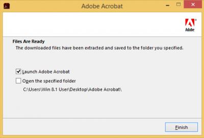Launch Adobe Acrobat…