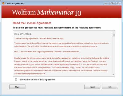Wolfram Licence Agreement…