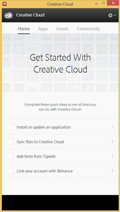 Creative Cloud Desktop app - Get started…