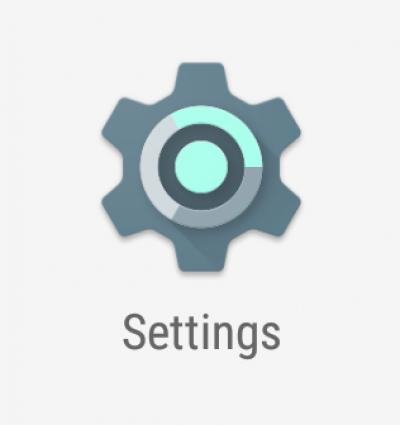 Settings icon…