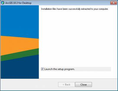 How to install ArcGIS for Windows | Information Services