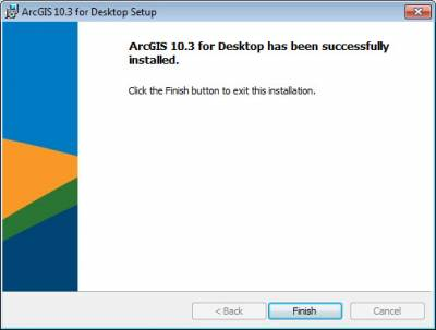 Click finish to complete installation…