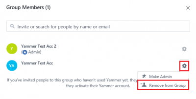 Fig 4. Remove member within Group Members window…