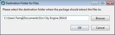 Extract Installation Files…