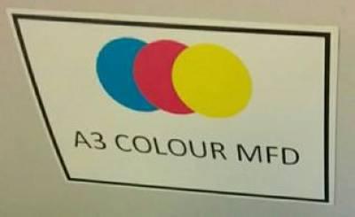 Colour device label…