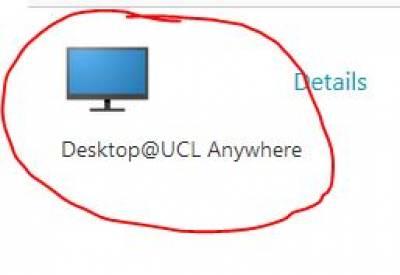 Desktop Anywhere icon…