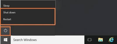 Desktop@UCL Windows 10 restart…
