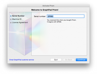keygen graphpad prism 5 mac