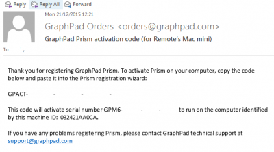 How to install Graphpad Prism macintosh | Information