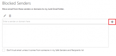 Removing junk email in Outlook Web Access (OWA) | Information