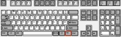 Windows keyboard…