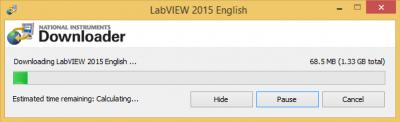 LabVIEW downloader…