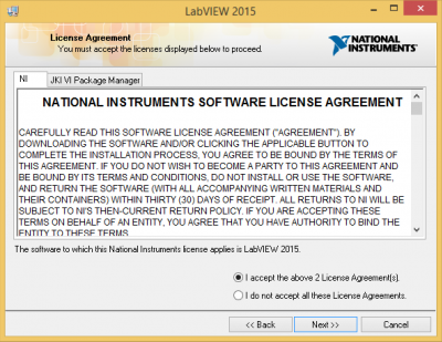 Accept Software agreements…
