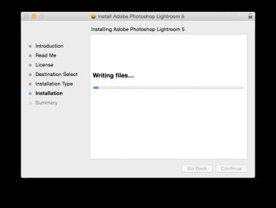 How to install Photoshop Lightroom macintosh | Information