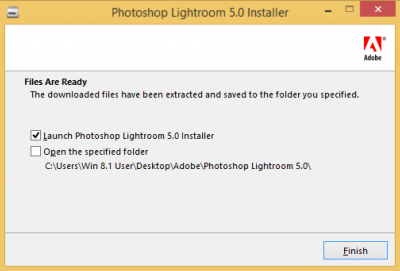 Launch Photoshop Lightroom…