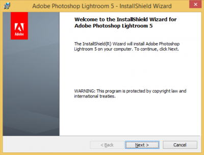 How to install Photoshop Lightroom windows   Information
