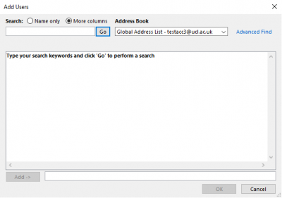 Fig 5. The Add Users window…