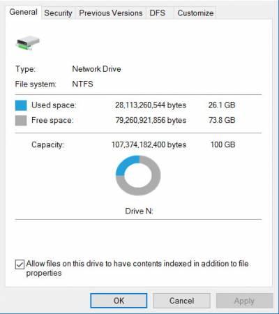 Filestore@UCL: Restore a deleted file or folder in Windows 7