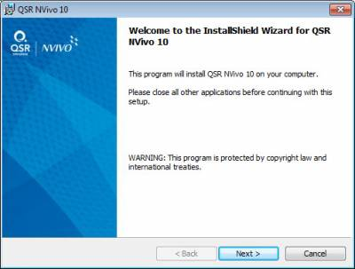 How to install Nvivo Windows | Information Services Division