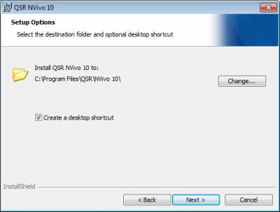 Nvivo Windows Destination…