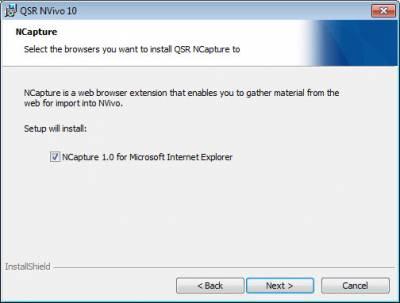 Nvivo Windows NCapture…