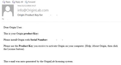Email from info@OriginLab.com…