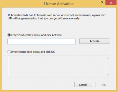 Enter received Product Key…