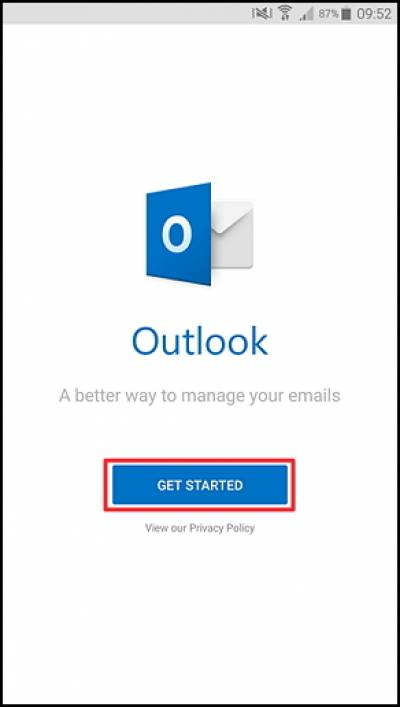 Connect to Outlook for iOS and Android   Information Services