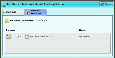 Print Job Details…