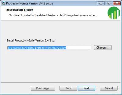 Select Destination Folder…
