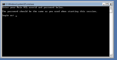 Command prompt to publish webpages…
