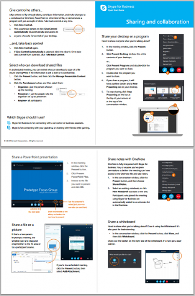 Preview Image - Quick Start Guide: Sharing and Collaboration…