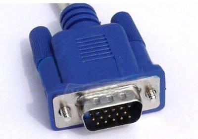 VGA connection…