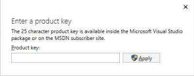 Enter license key…