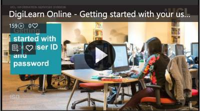 Getting started with your user ID and password video